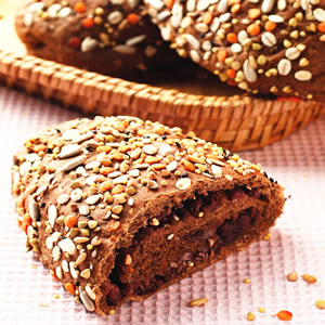雜糧紅豆麵包