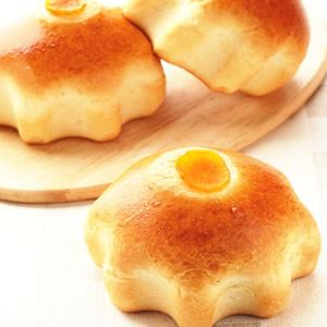 金薯蜜豆麵包