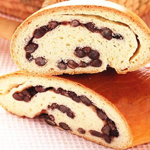 木材紅豆麵包