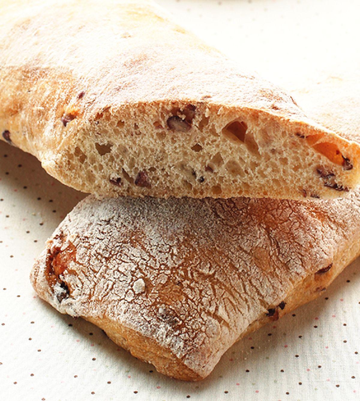 食譜:紅豆拖鞋麵包