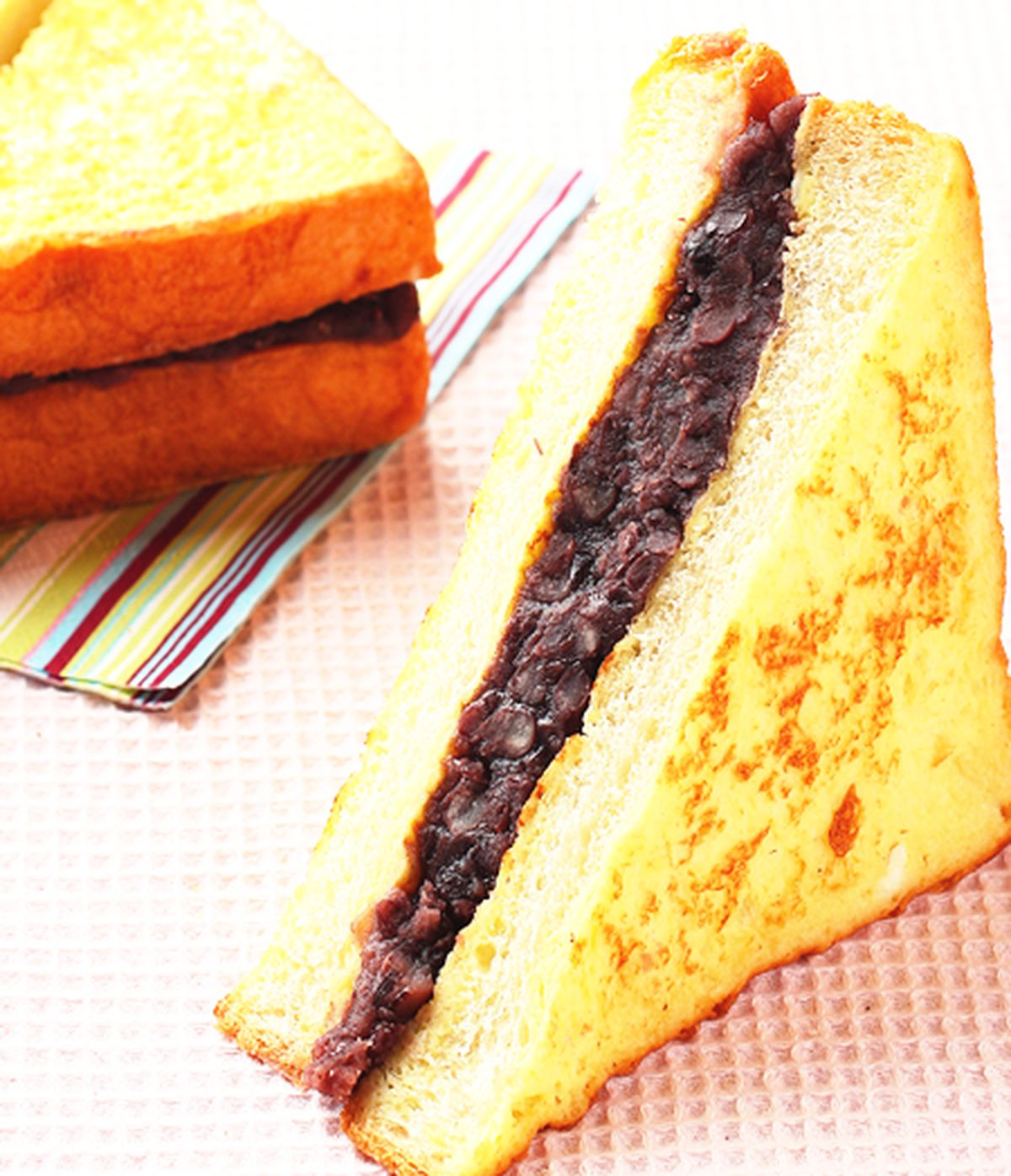 食譜:法式紅豆土司
