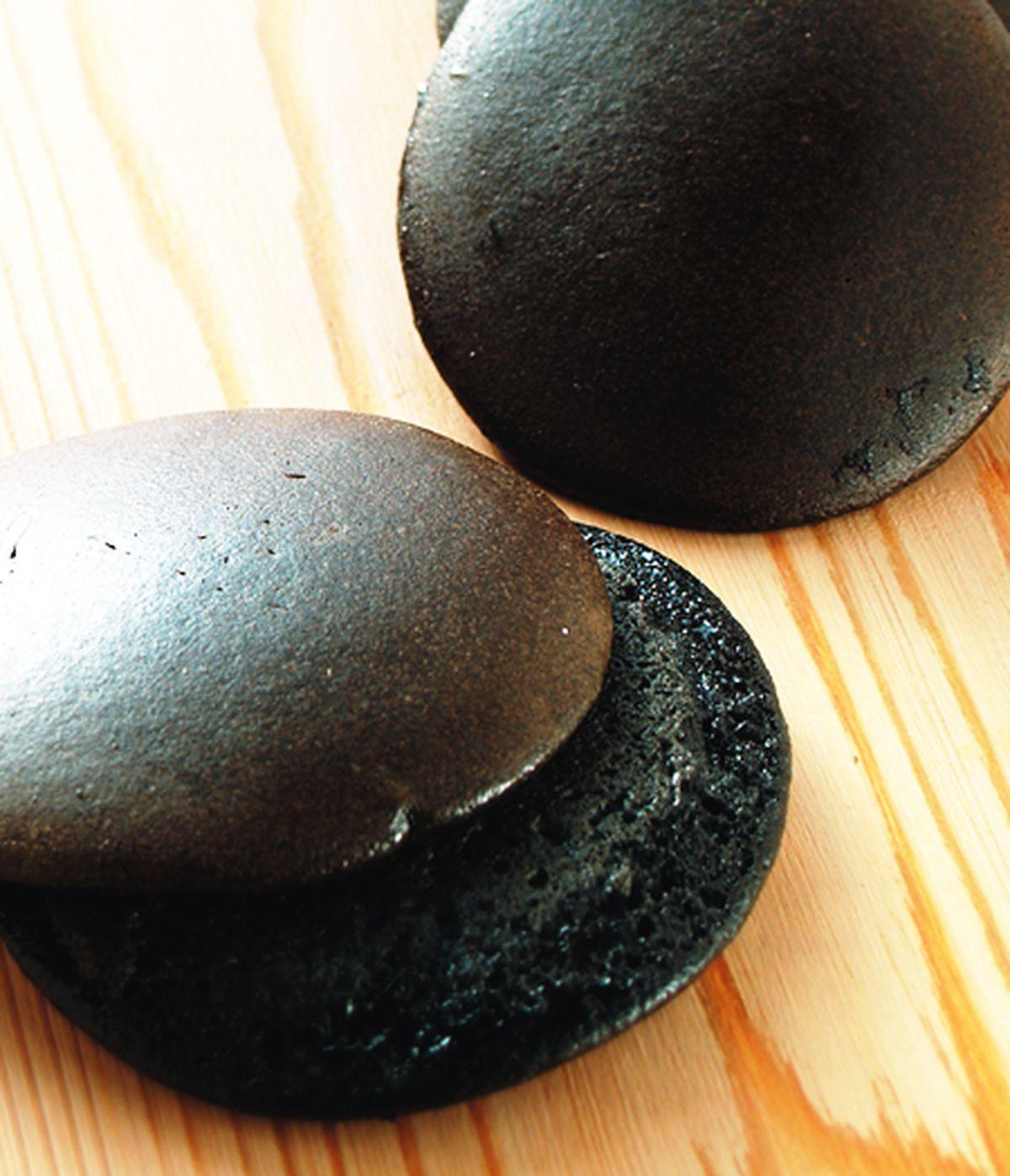 食譜:竹炭餅皮
