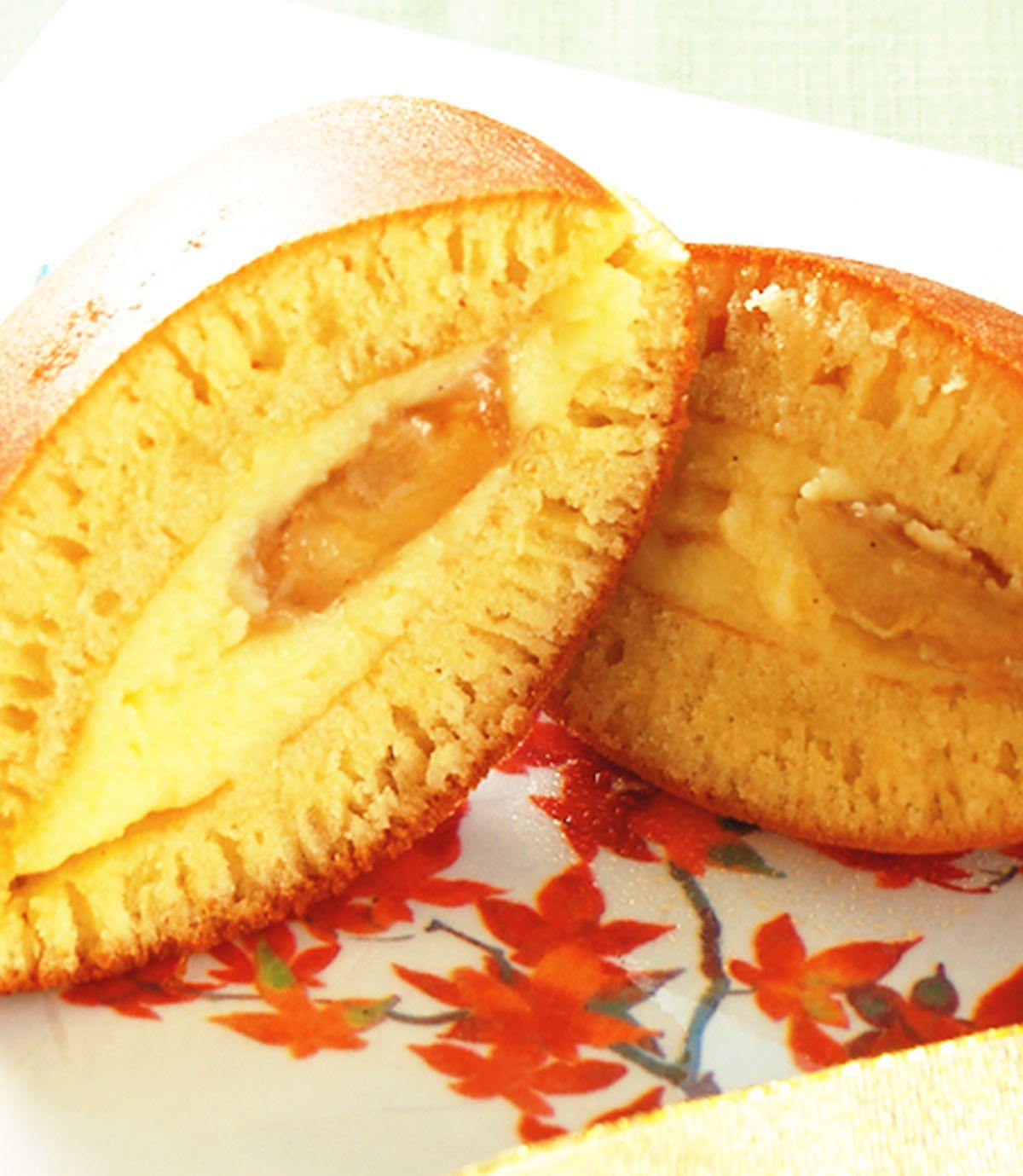 食譜:焦糖香蕉布丁銅鑼燒