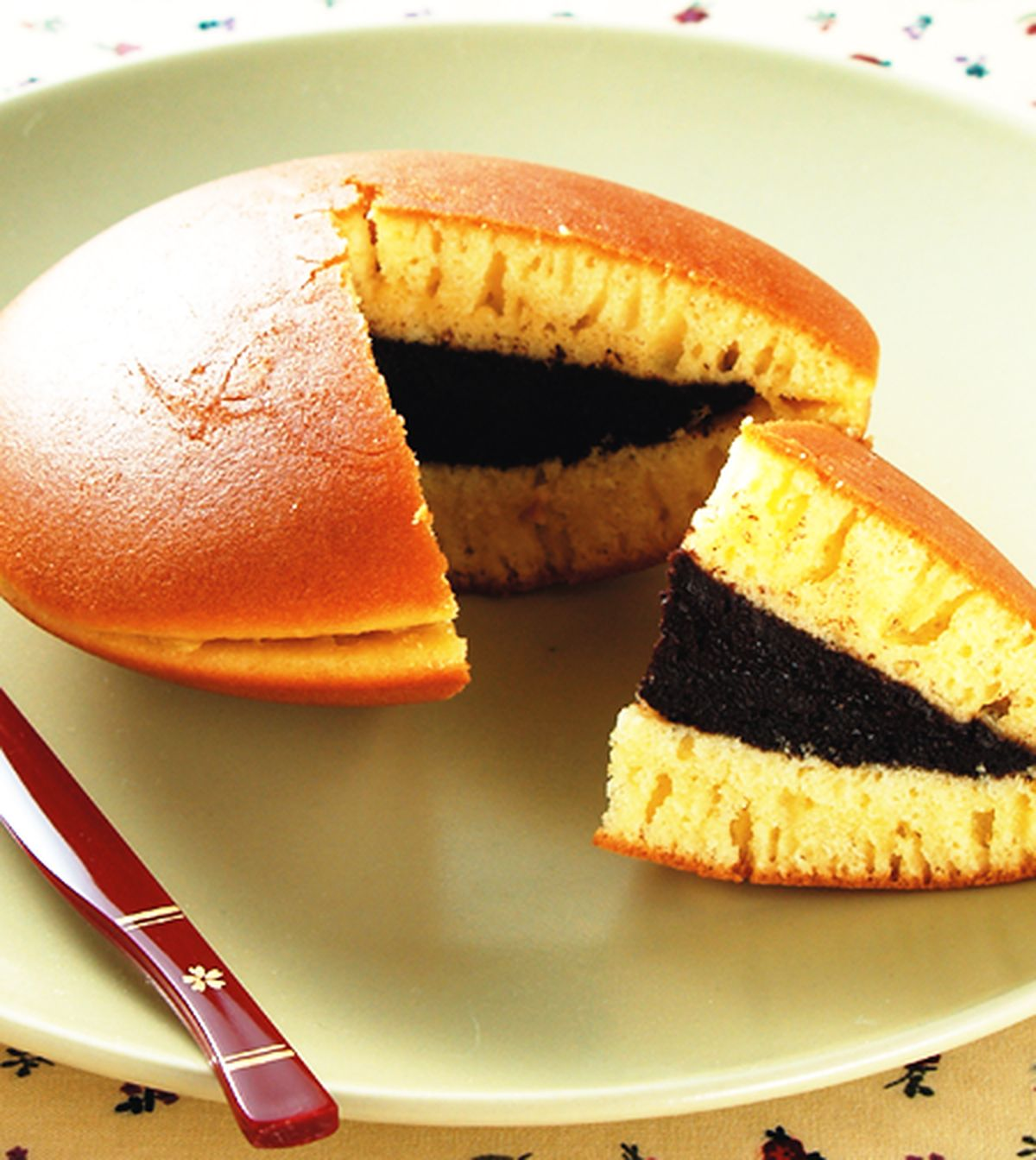 食譜:花生巧克力銅鑼燒