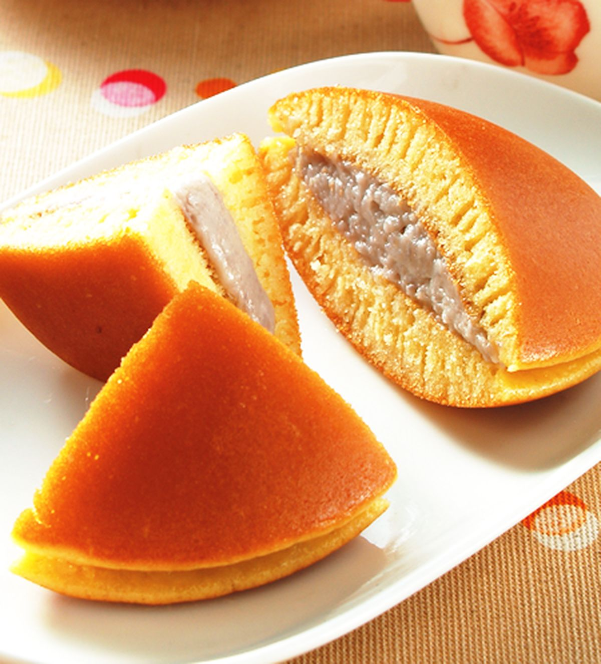 食譜:椰香芋頭銅鑼燒