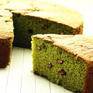 抹茶紅豆蛋糕(1)
