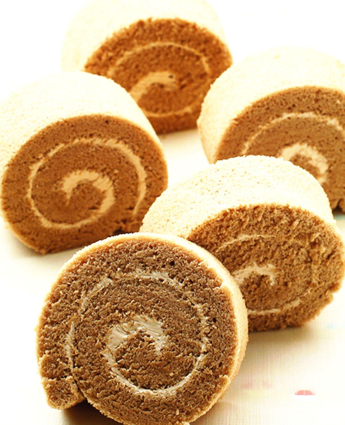 食譜:摩卡蛋糕卷
