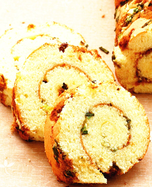 食譜:肉鬆蛋糕卷