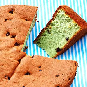 藍藻海綿蛋糕
