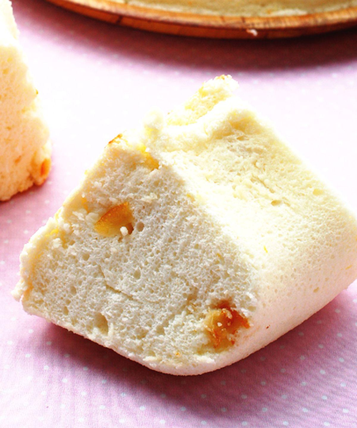 食譜:柳橙天使蛋糕