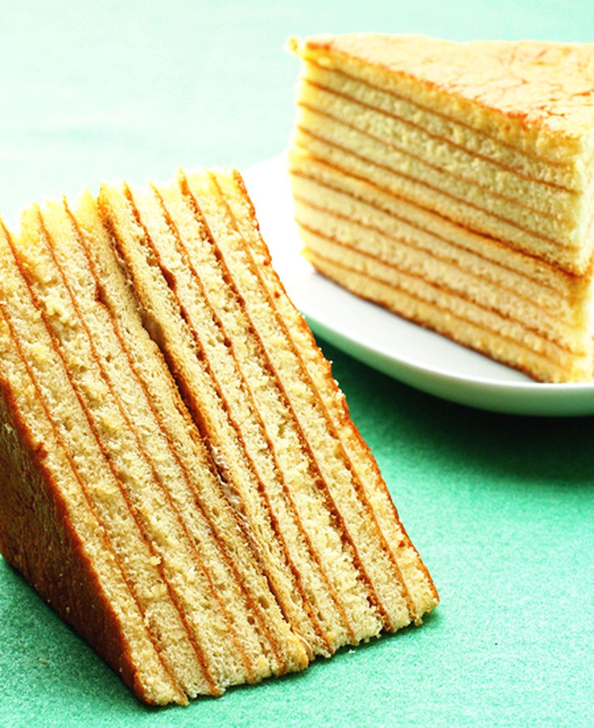 食譜:千層蛋糕