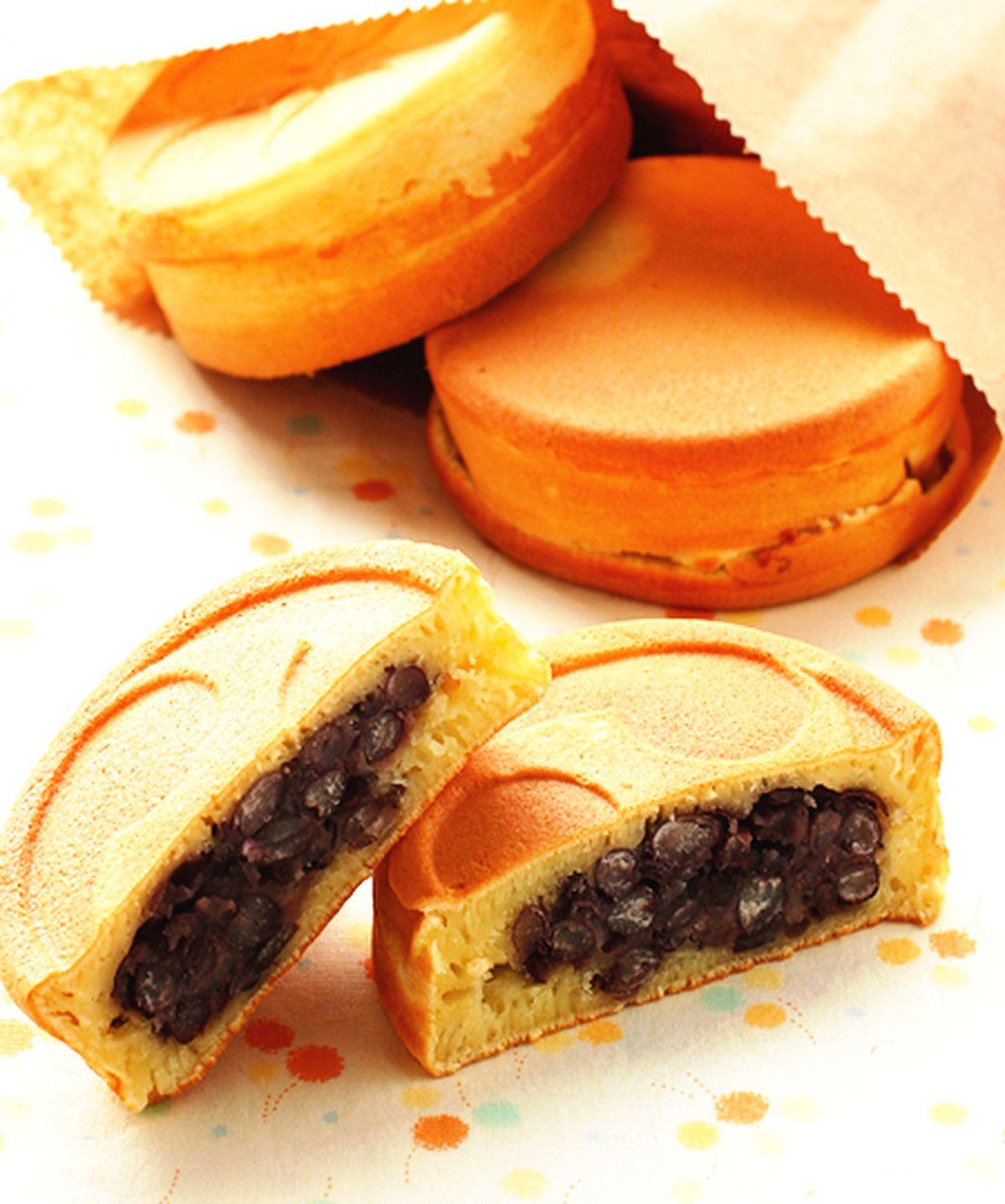 食譜:紅豆車輪餅