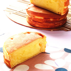 奶油布丁車輪餅