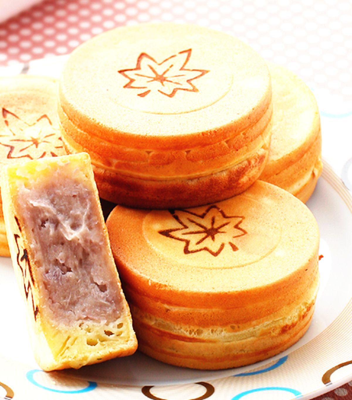食譜:椰香芋泥車輪餅