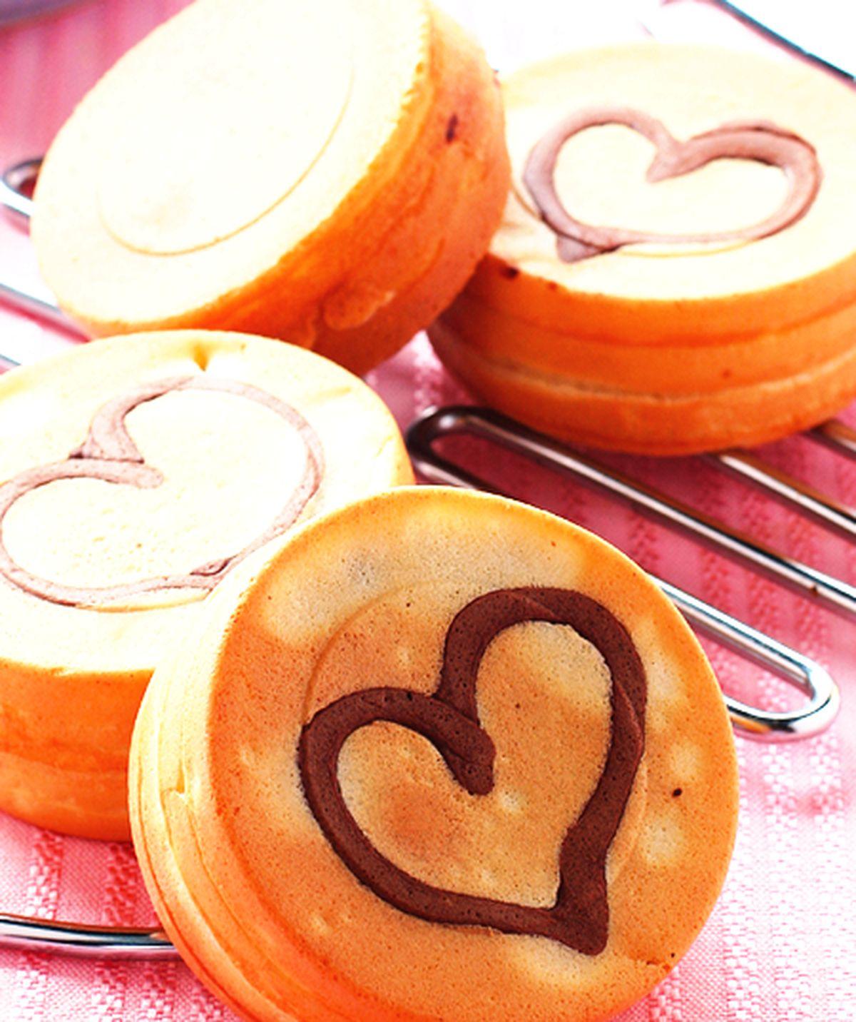 食譜:香濃巧克力車輪餅