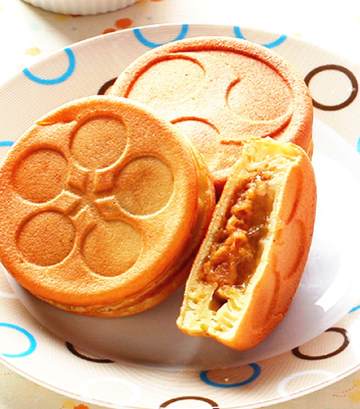 食譜:花生水晶車輪餅