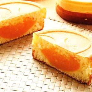 蜜桃奶油車輪餅