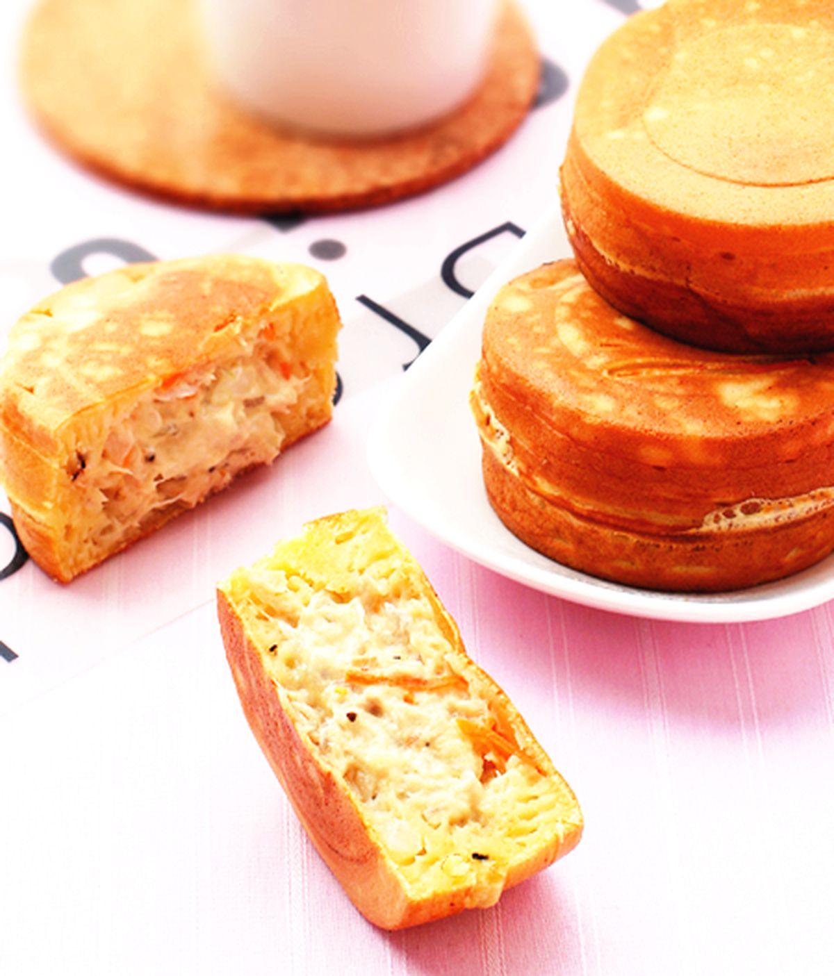 食譜:鮪魚美奶車輪餅