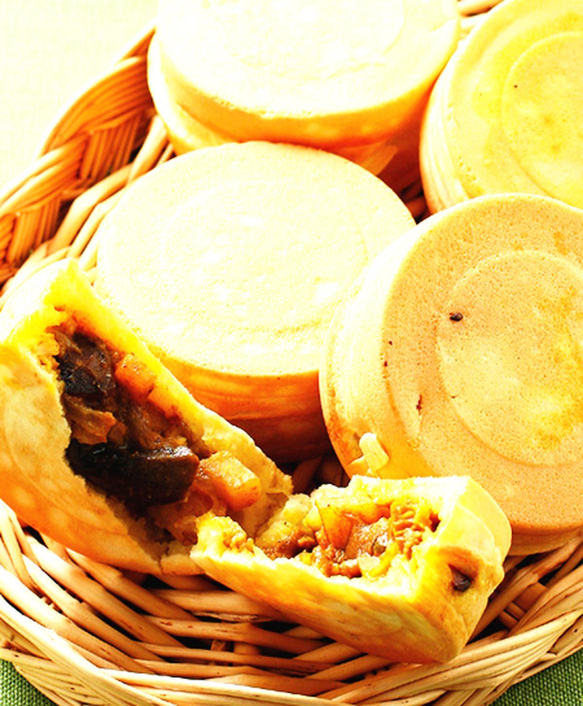食譜:豆薯咖哩車輪餅
