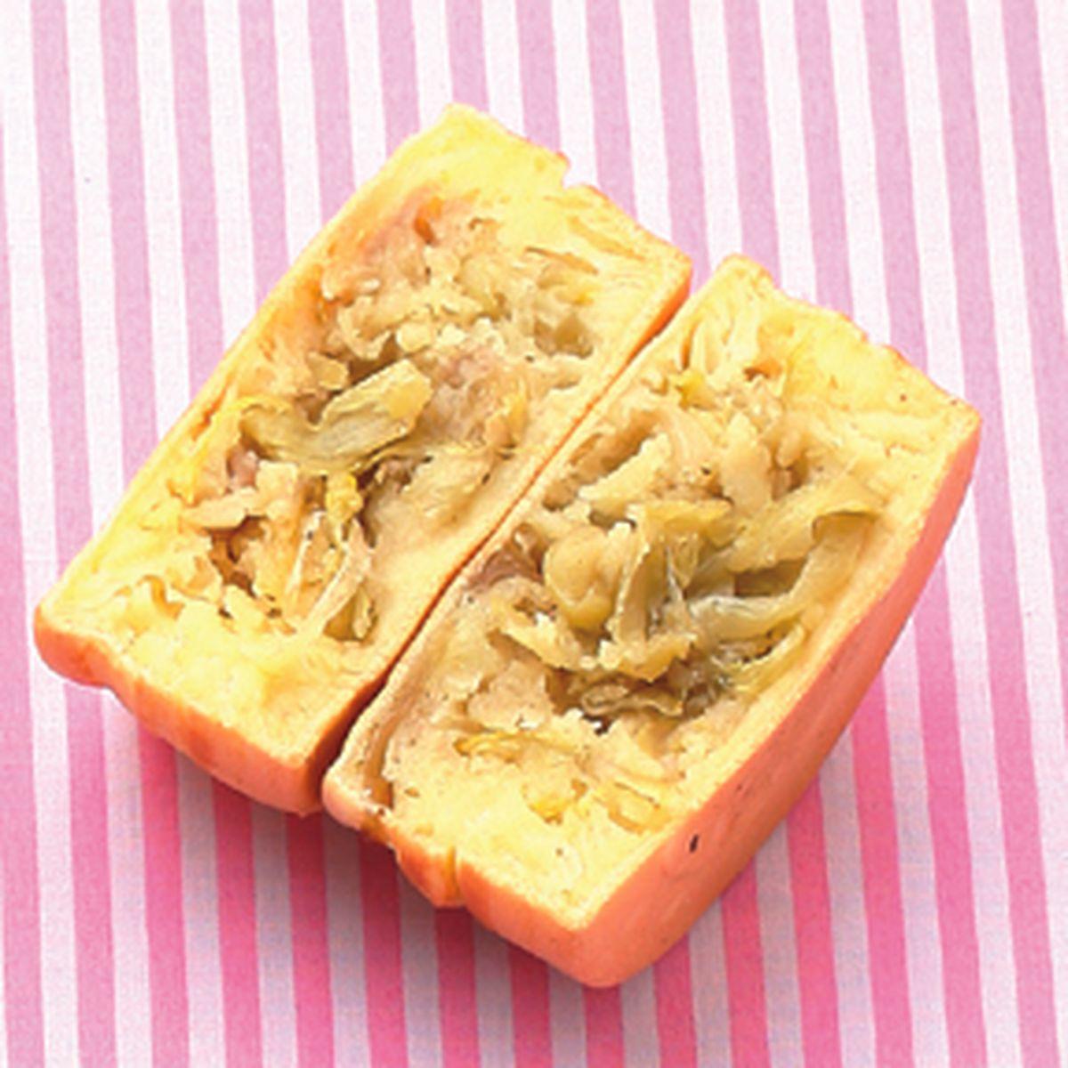 食譜:酸菜車輪餅