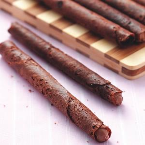 巧克力捲心酥
