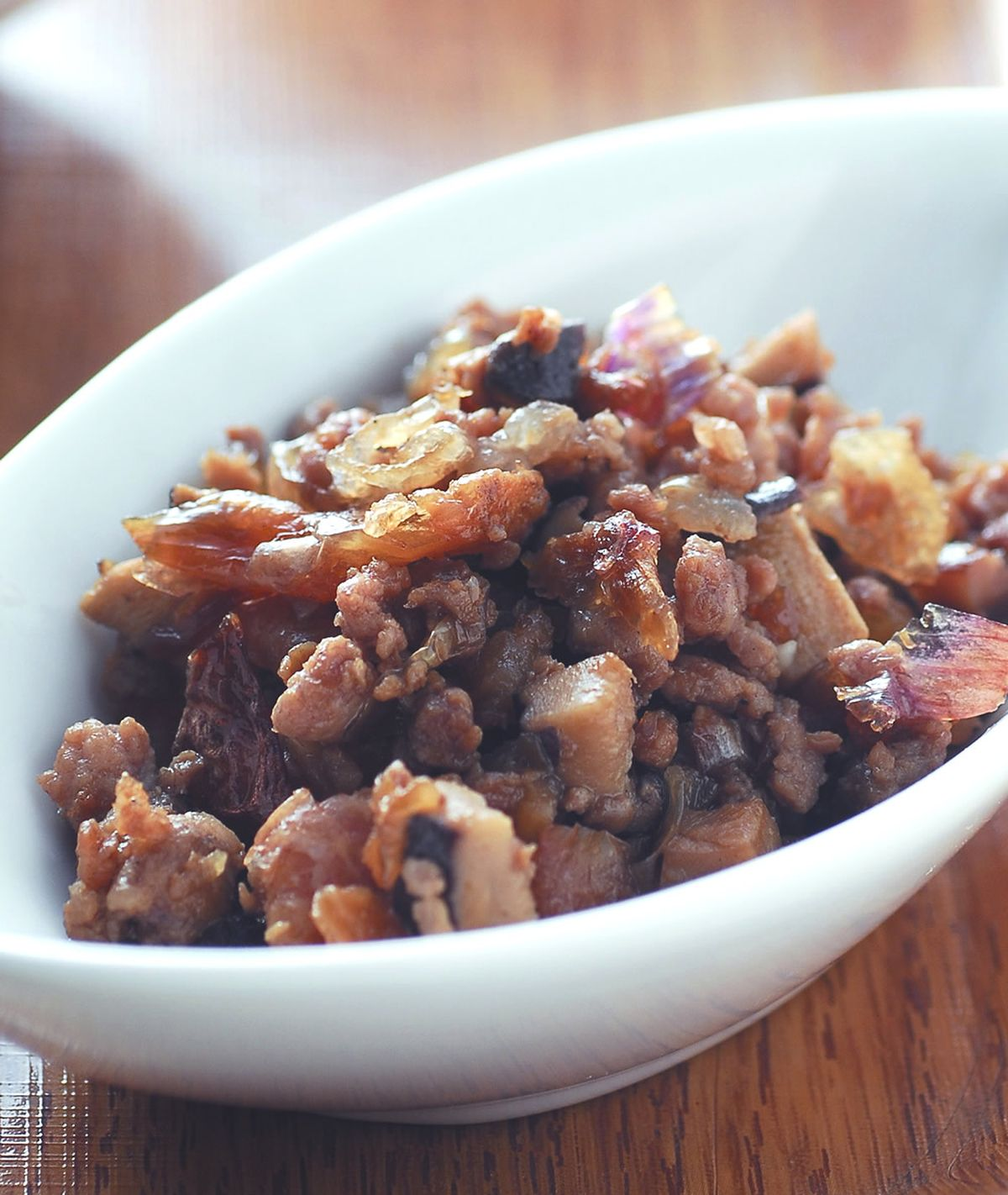 食譜:油蔥肉燥餡