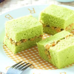 菠菜玉米鹹蛋糕