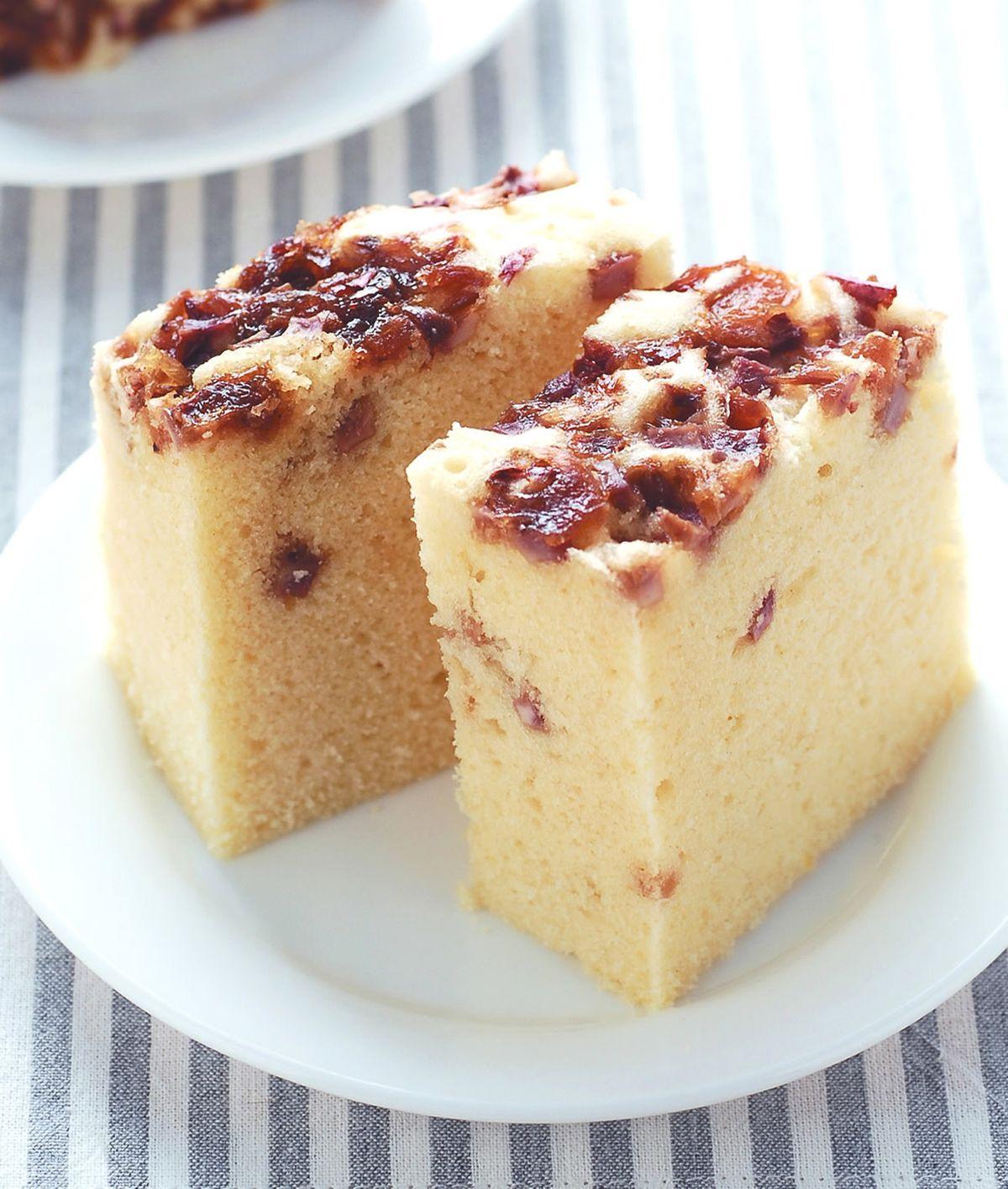 食譜:芋頭油蔥鹹蛋糕