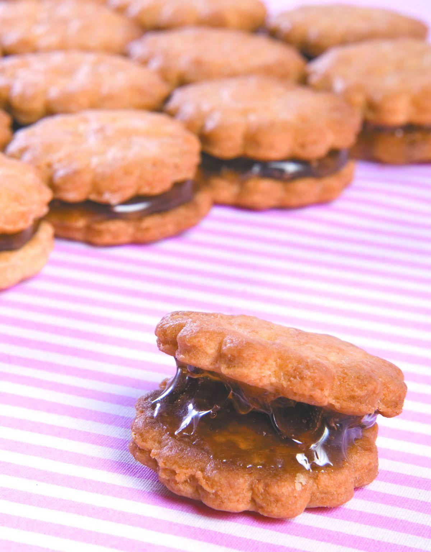食譜:黑糖麥芽糖餅