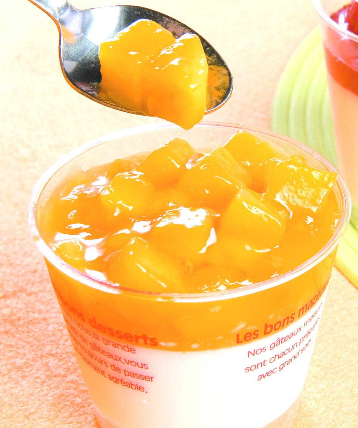 食譜:芒果淋醬