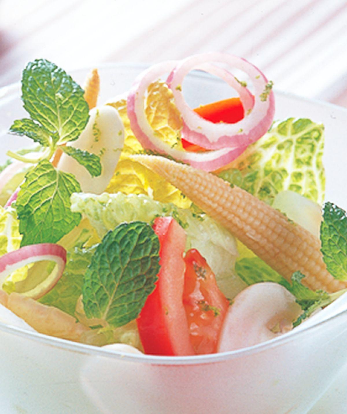 食譜:鮮蔬沙拉