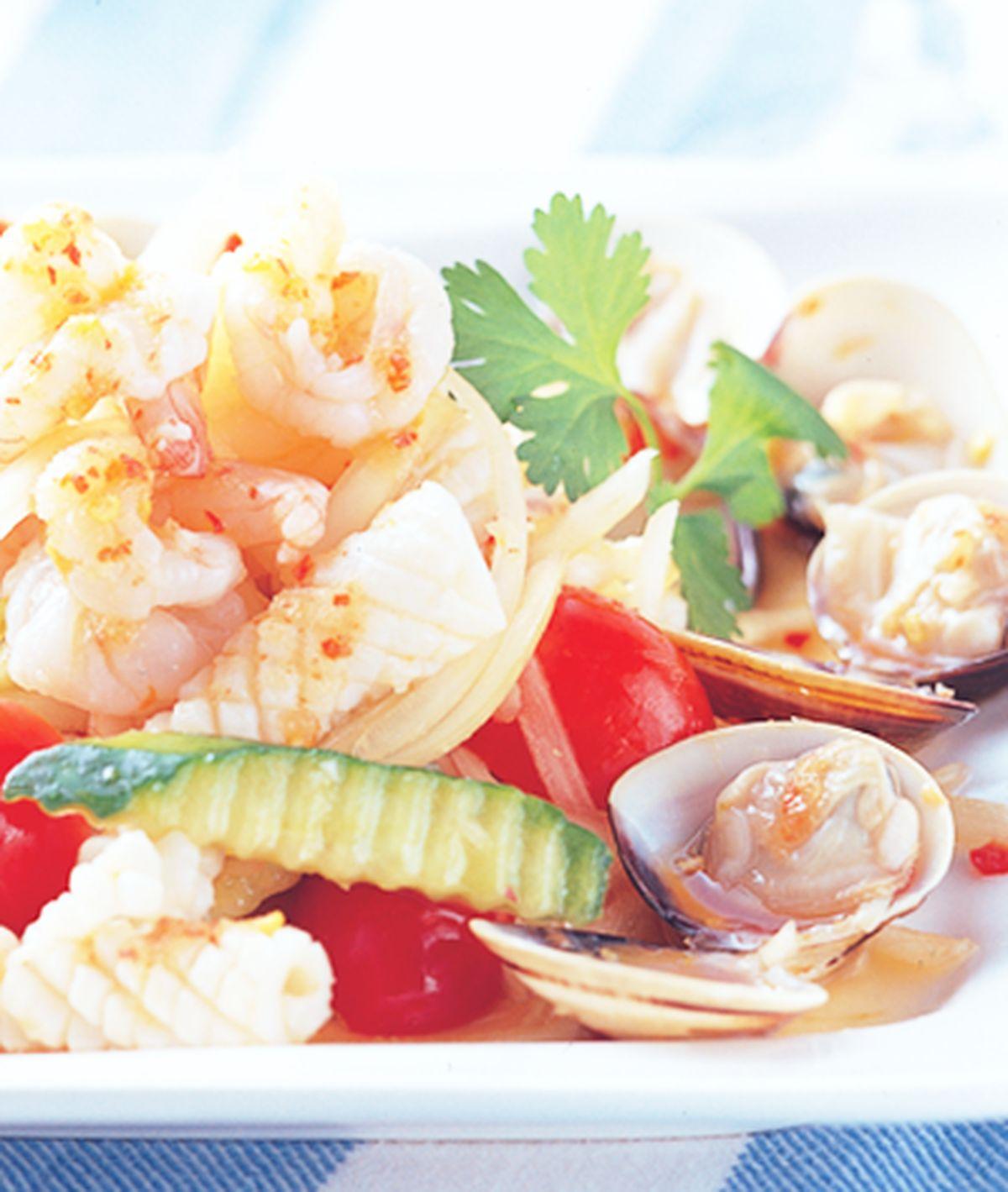 食譜:海鮮沙律