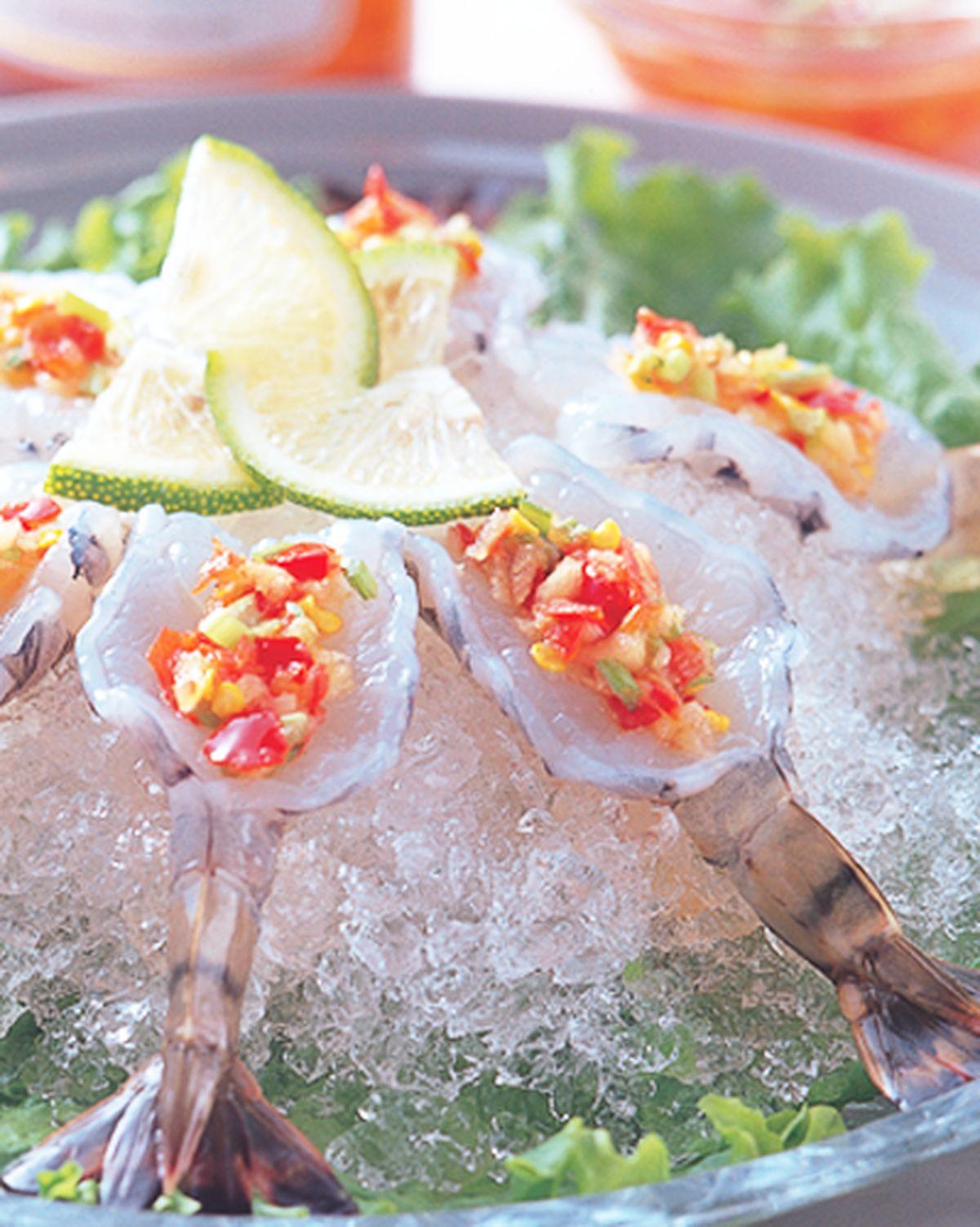 食譜:酸辣生蝦