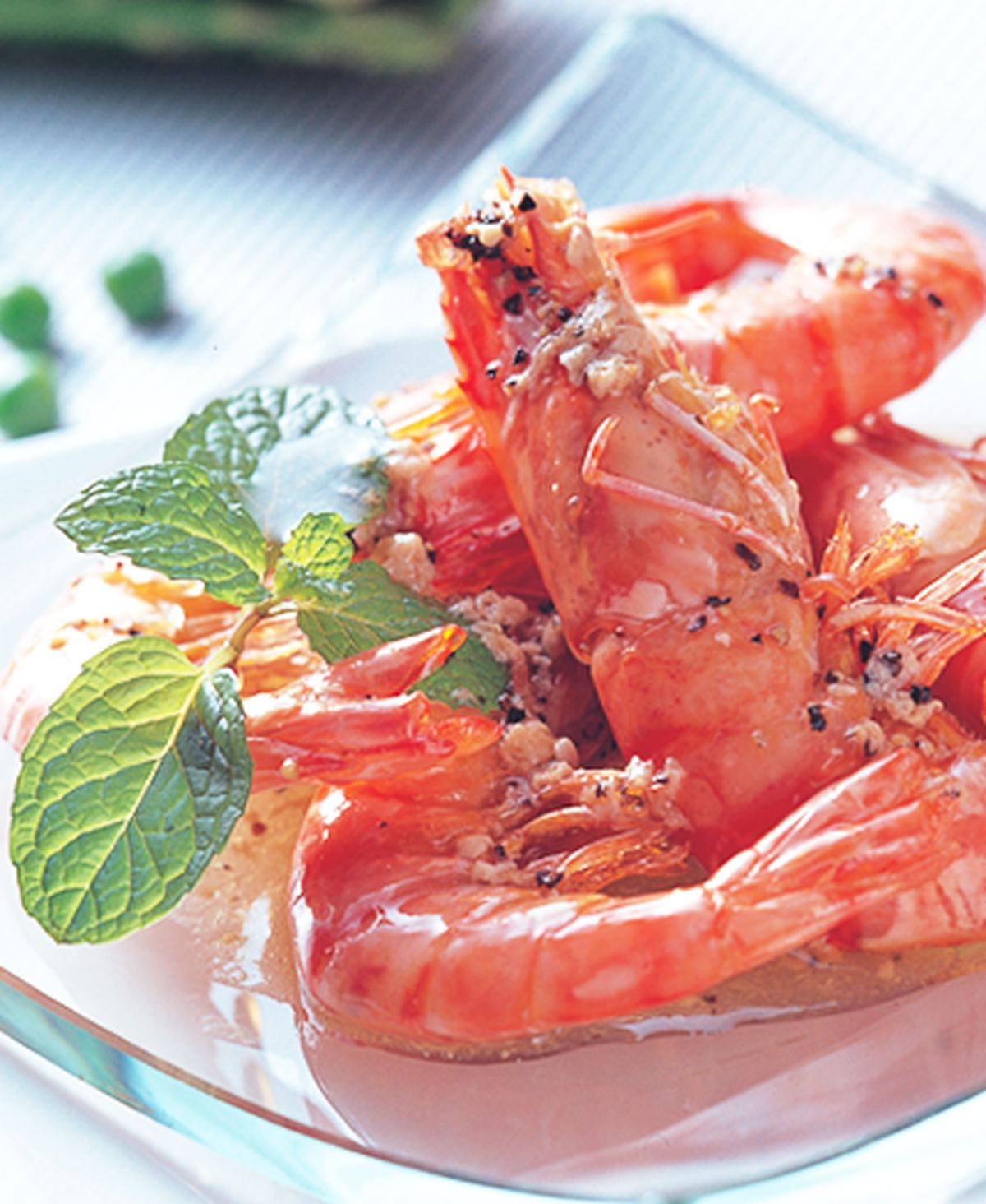 食譜:泰味蒸蝦