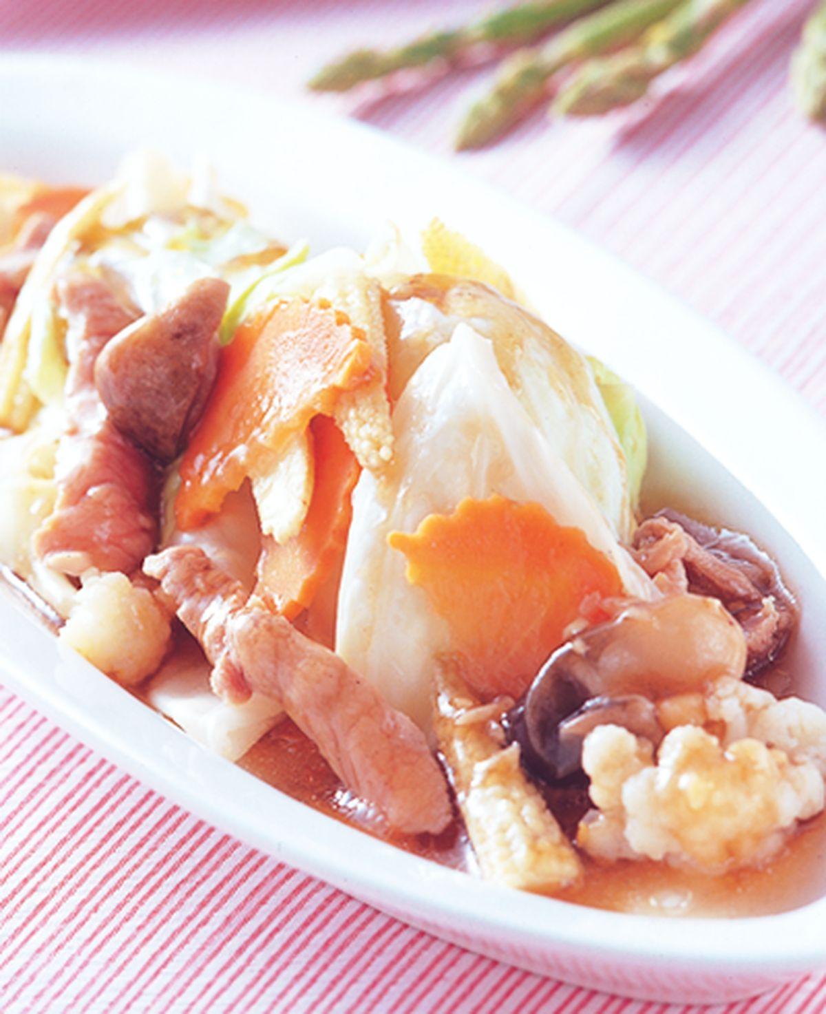 食譜:什錦青菜