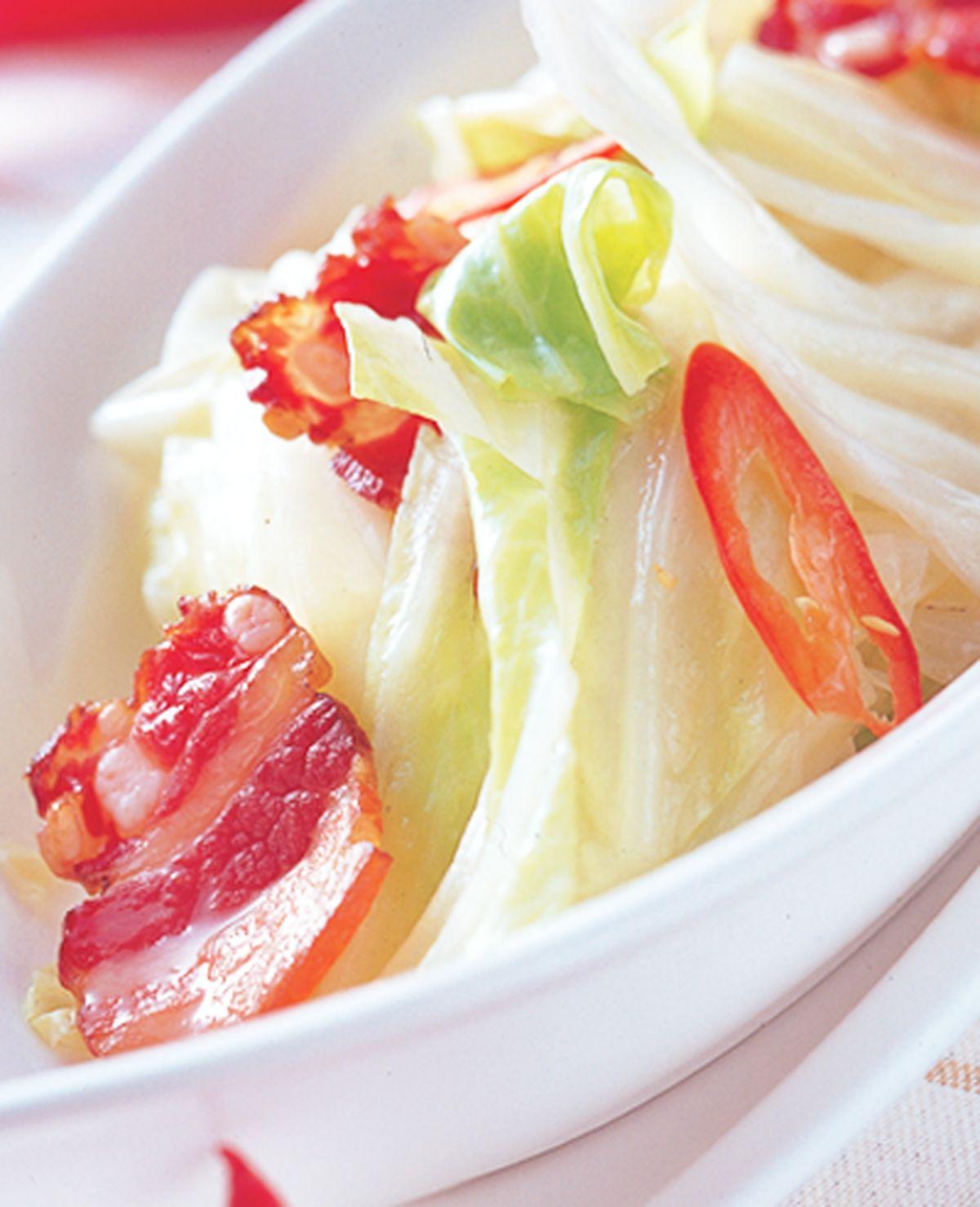 食譜:臘肉高麗菜