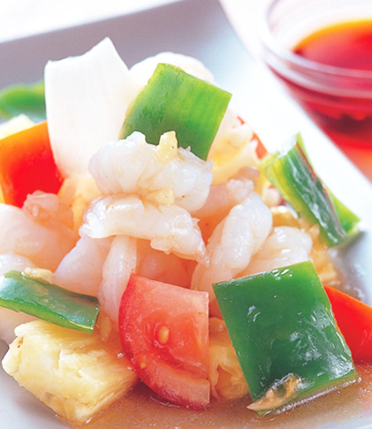 食譜:鳳梨炒蝦仁