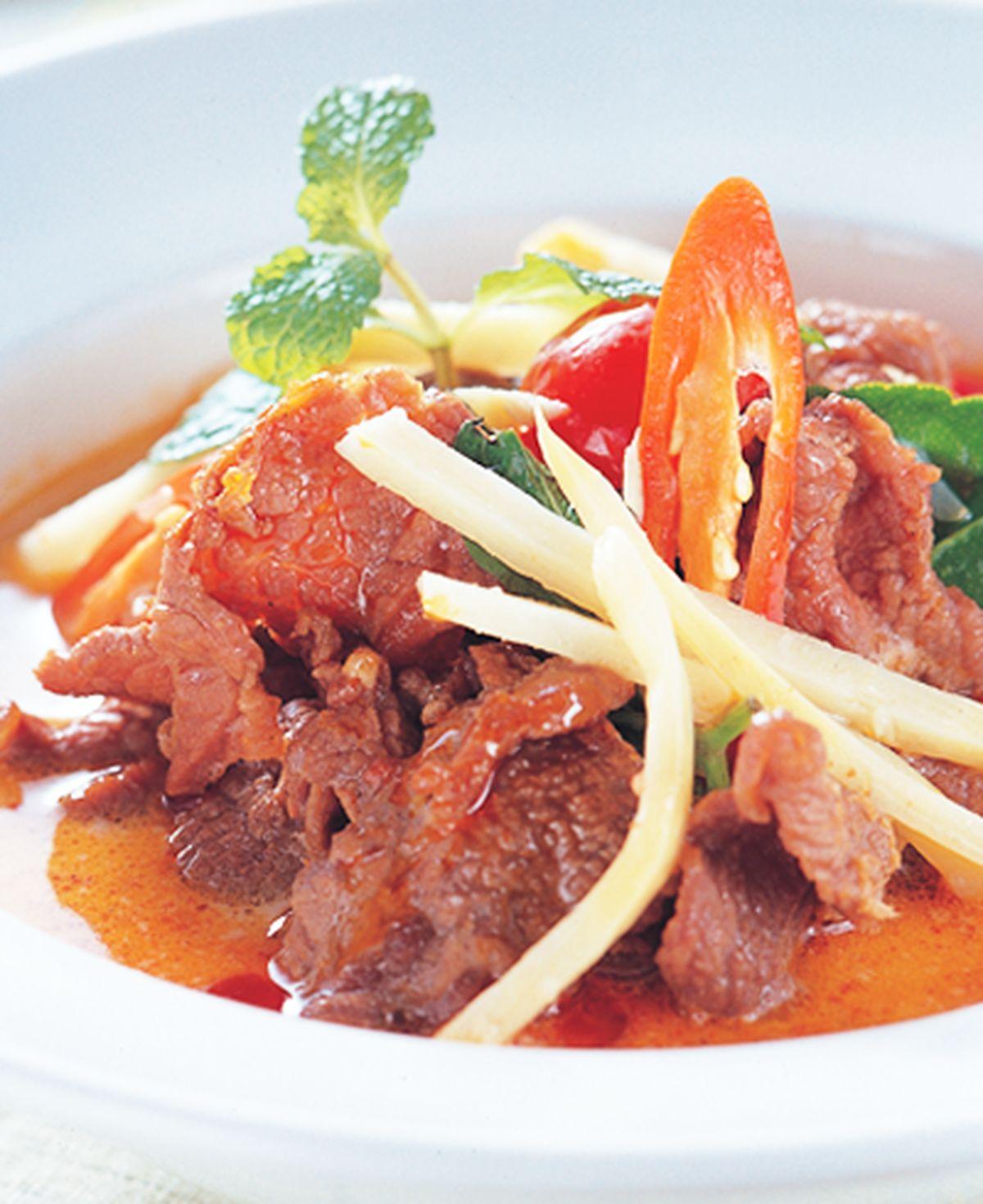 食譜:紅咖哩牛肉