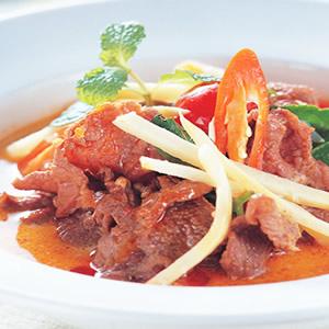 紅咖哩牛肉