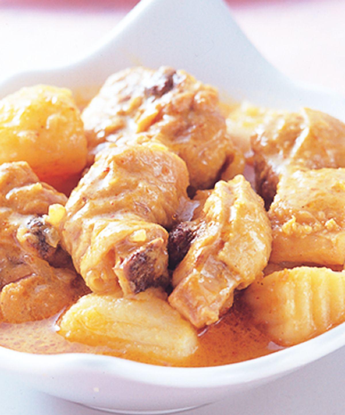 食譜:黃金咖哩雞