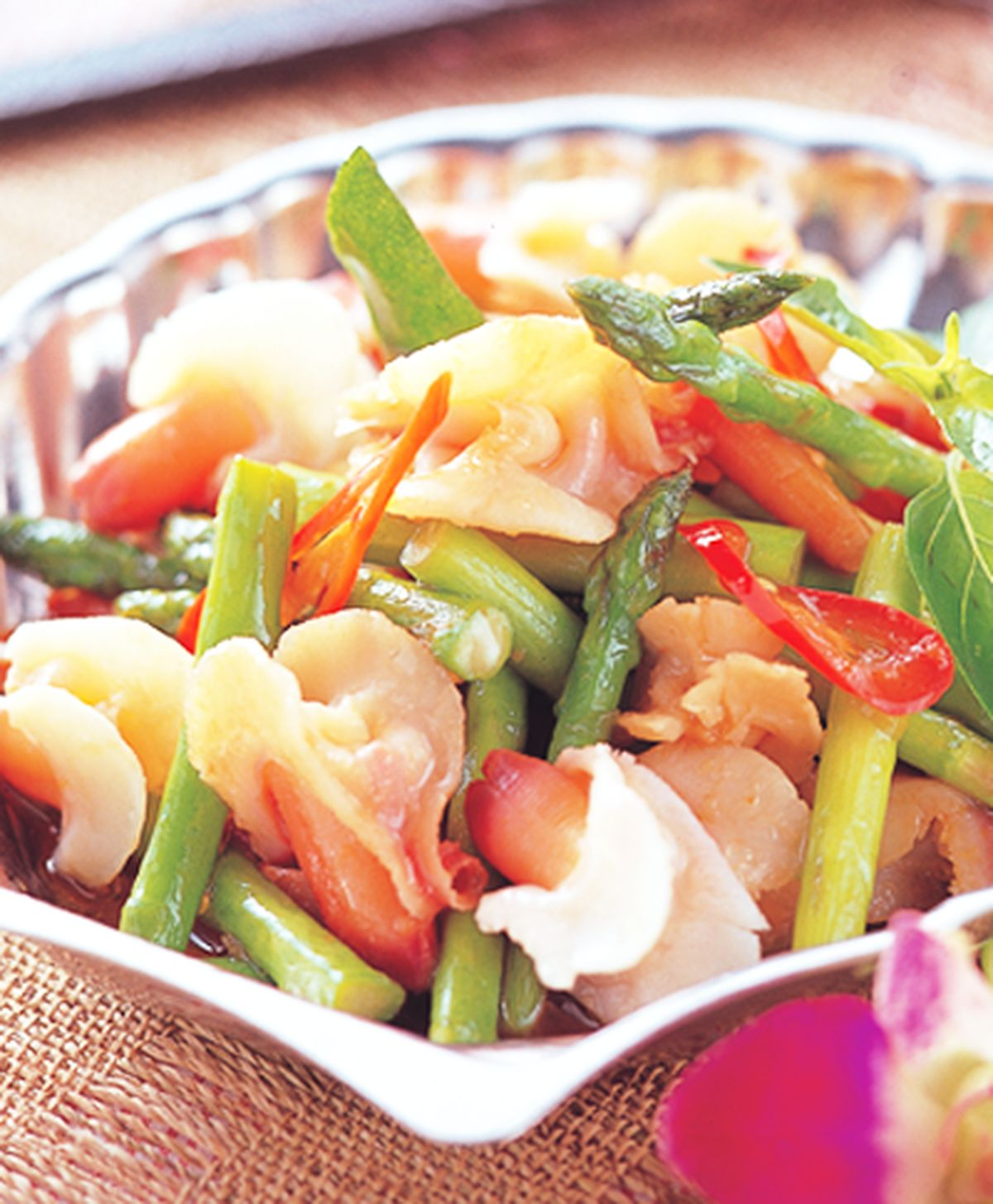 食譜:辣炒蘭花蚌