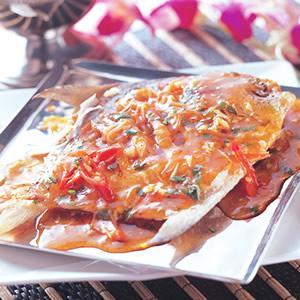 香酥檸檬燴魚
