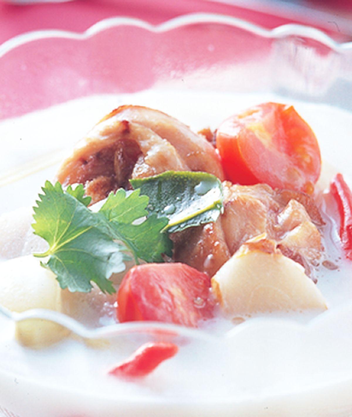 食譜:南薑雞湯