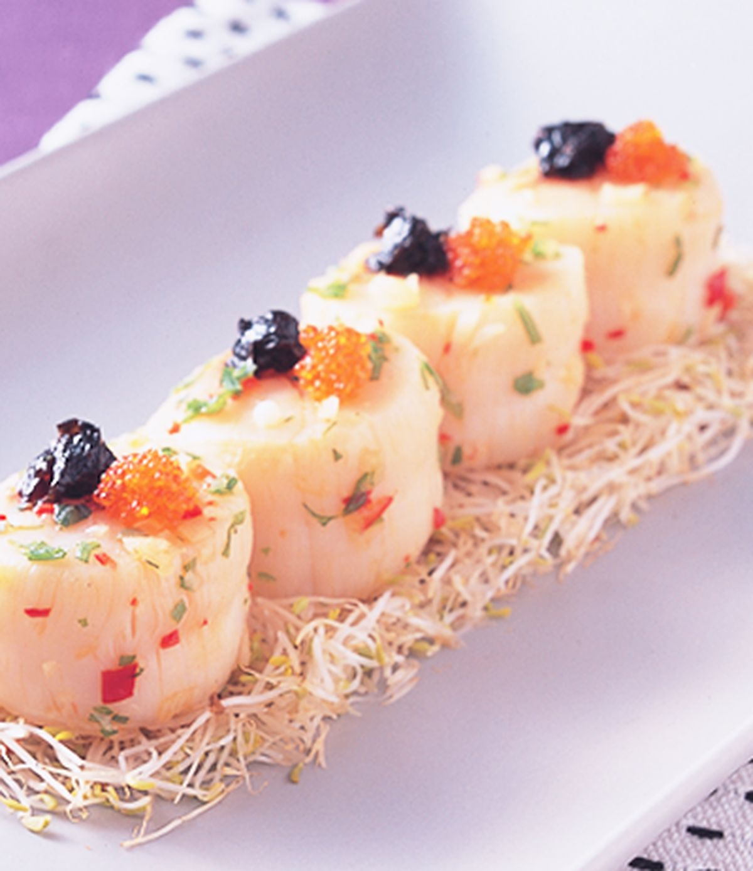 食譜:海棠鮮帶子