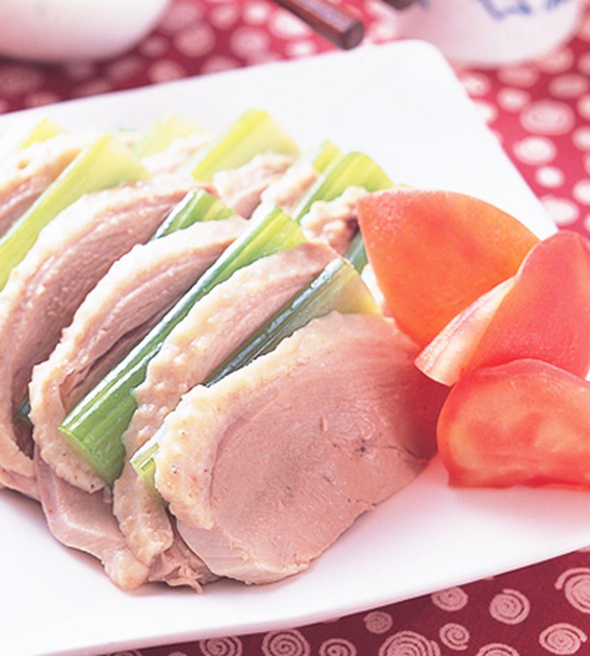 食譜:西芹鵝肉片