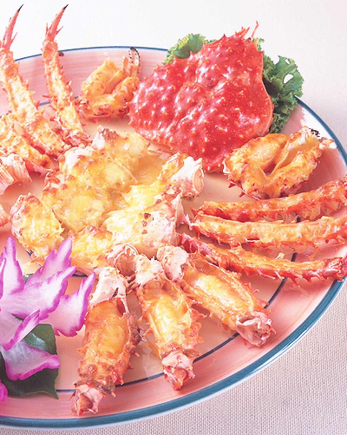 食譜:起司帝王蟹(1)