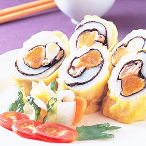蛋黃花枝卷