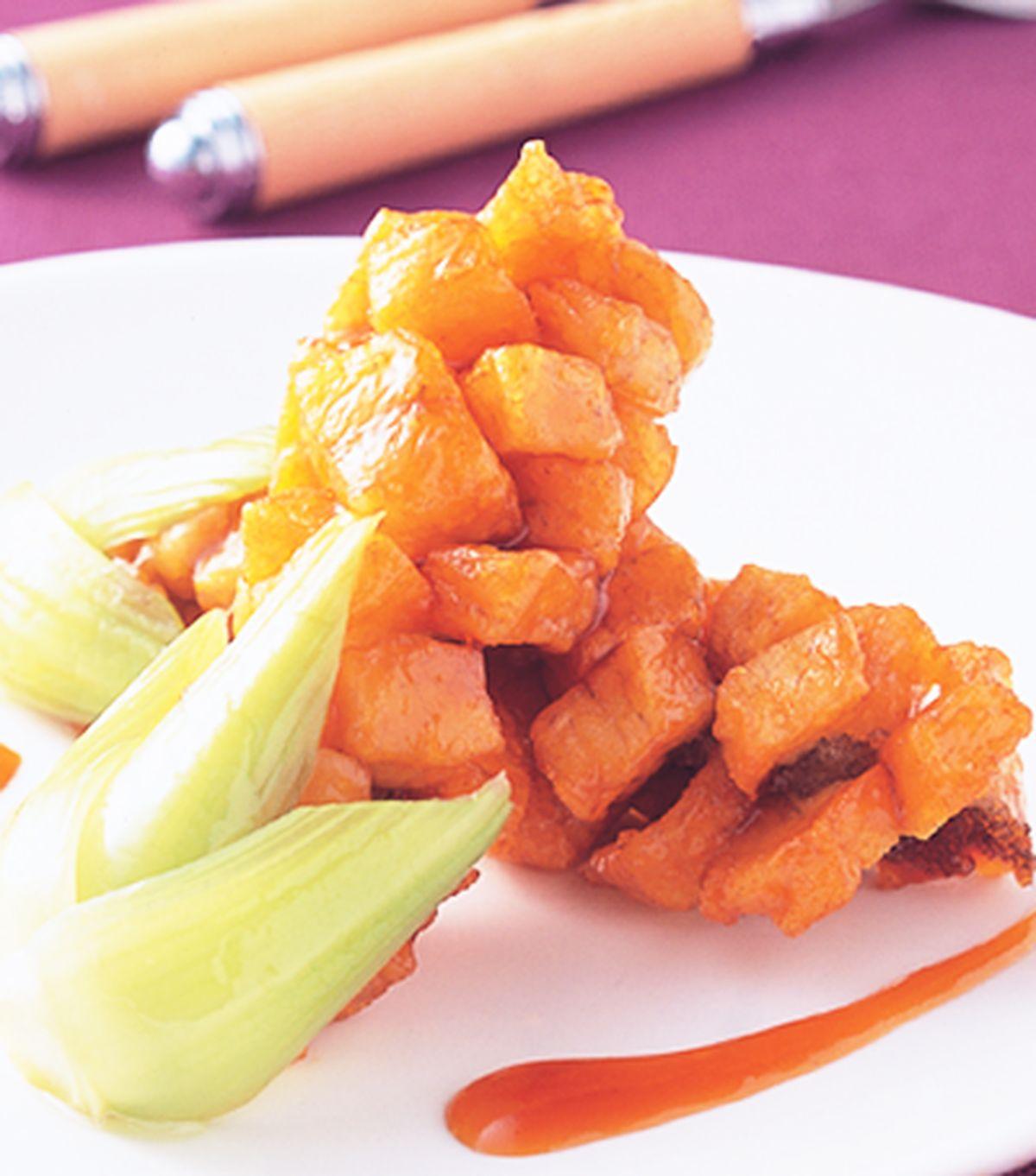 食譜:鯛魚葡萄串