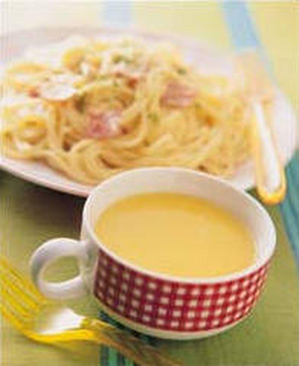 食譜:奶油火腿義大利麵