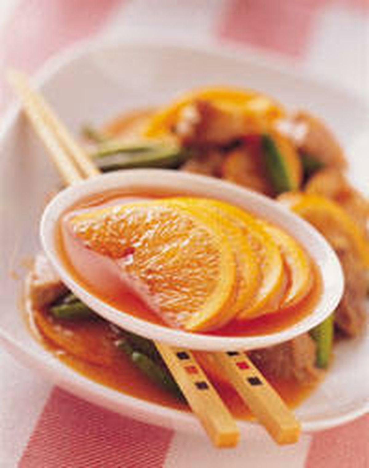 食譜:金針橙汁燴梅花